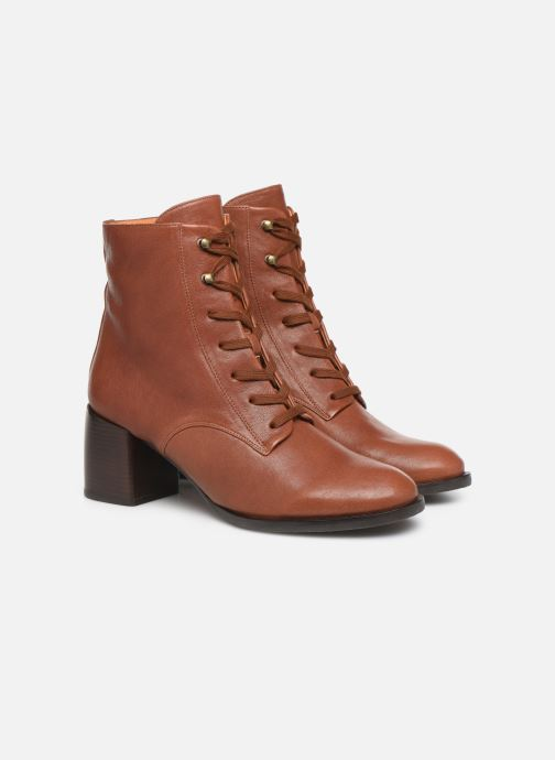 Ankle boots Chie Mihara OR Omast Brown 3/4 view