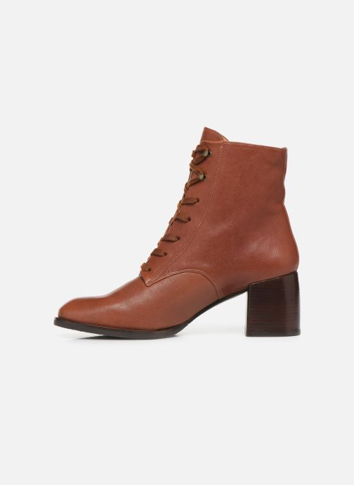 Ankle boots Chie Mihara OR Omast Brown front view