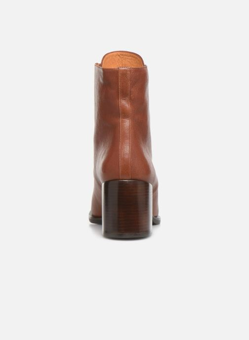 Ankle boots Chie Mihara OR Omast Brown view from the right