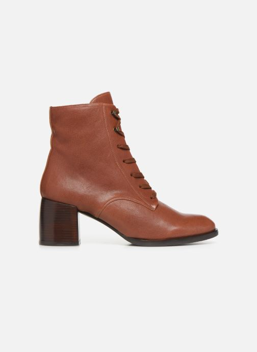 Ankle boots Chie Mihara OR Omast Brown back view
