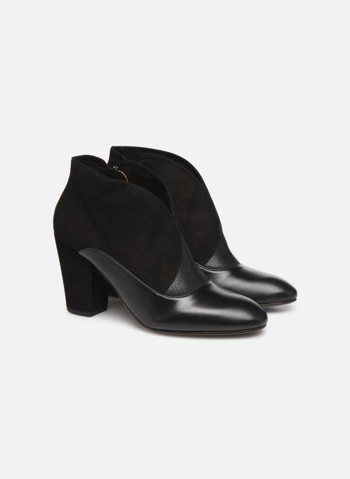 Bottines et boots Chie Mihara Elgi Noir vue 3/4