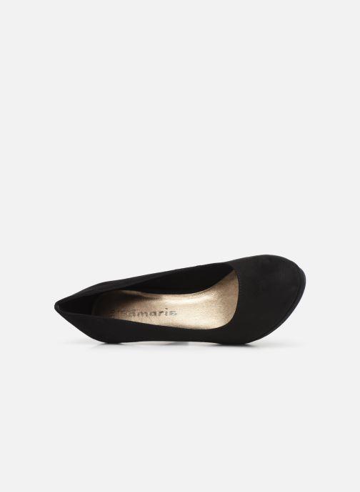 Zapatos de tacón Tamaris Freesia NEW Negro vista lateral izquierda