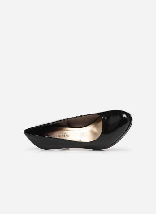 Zapatos de tacón Tamaris Penelope Negro vista lateral izquierda
