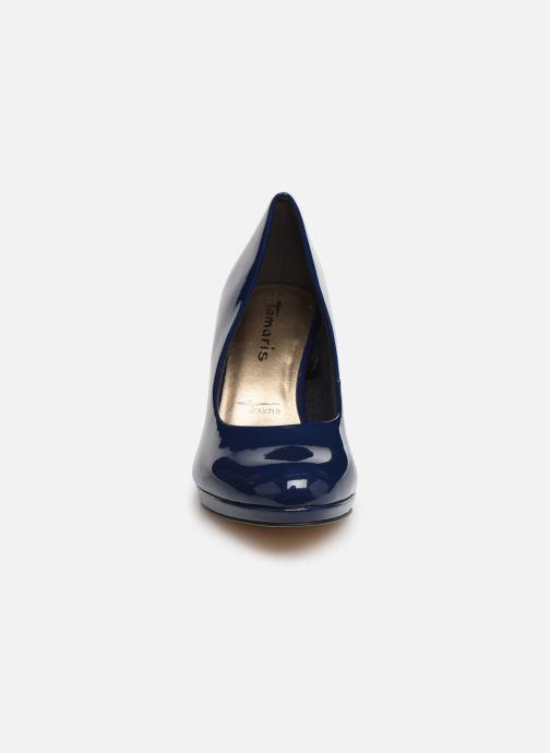 Escarpins Tamaris Penelope Bleu vue portées chaussures