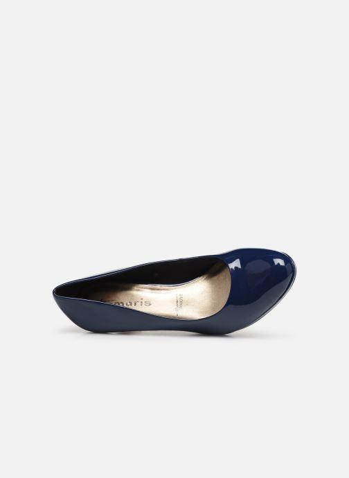 Zapatos de tacón Tamaris Penelope Azul vista lateral izquierda