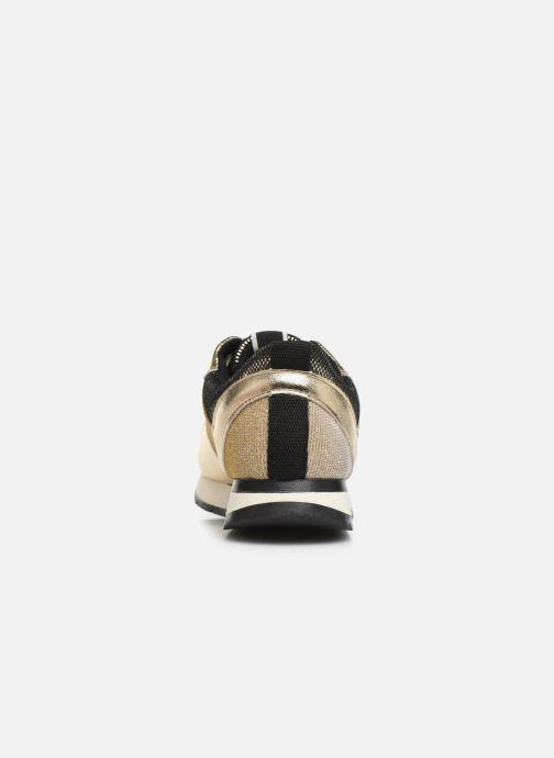 Baskets Tamaris BICO Or et bronze vue droite
