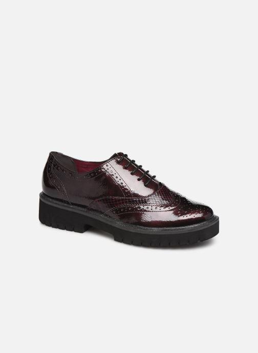 Chaussures à lacets Tamaris ALBAN Bordeaux vue détail/paire