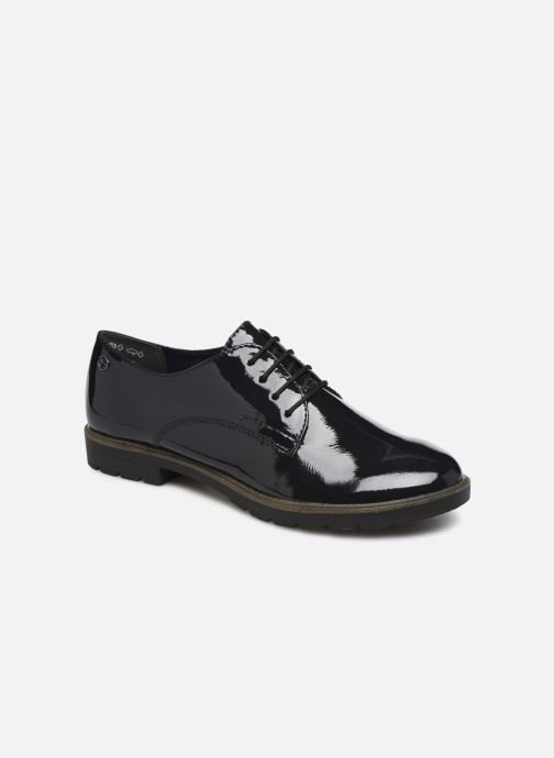 Lace-up shoes Tamaris ALBAN Blue detailed view/ Pair view