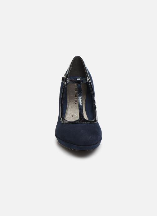 Escarpins Tamaris SALOME Bleu vue portées chaussures