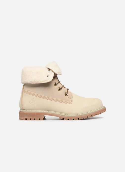 Ankle boots Lumberjack RIVER Beige back view