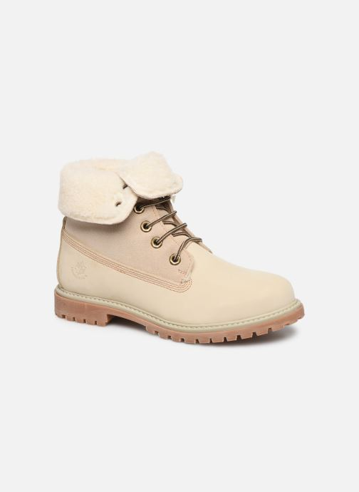 Ankle boots Lumberjack RIVER Beige detailed view/ Pair view