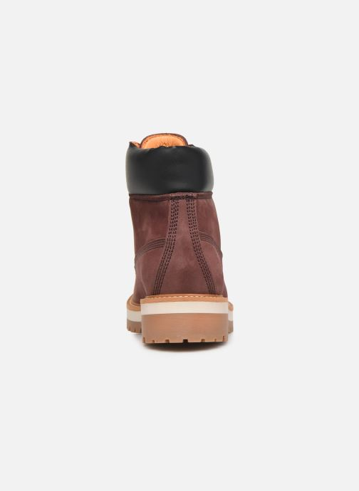 Ankle boots Lumberjack KRISTY Burgundy view from the right