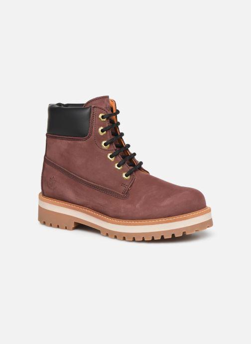 Bottines et boots Lumberjack KRISTY Bordeaux vue détail/paire