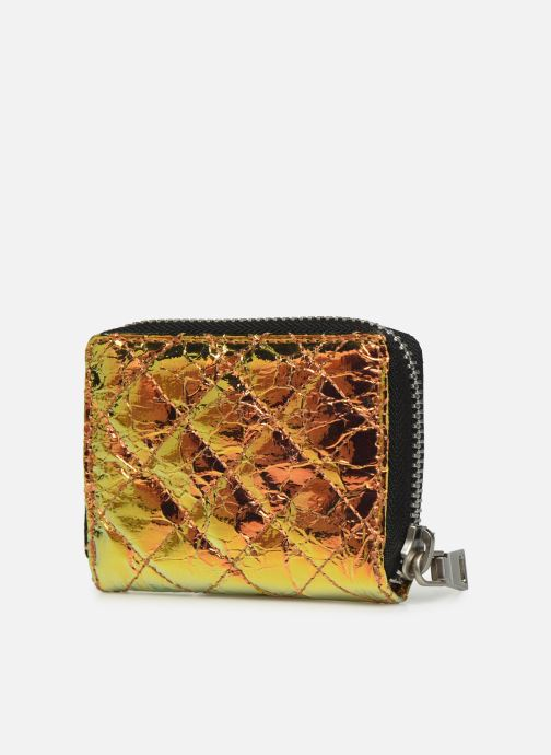 Wallets & cases Essentiel Antwerp Tempranillo wallet Bronze and Gold view from the right