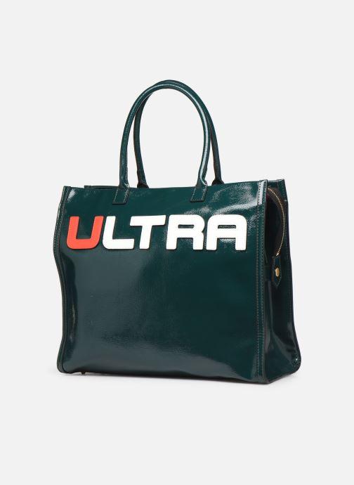 Handtaschen Essentiel Antwerp Tierraverde shopper grün schuhe getragen