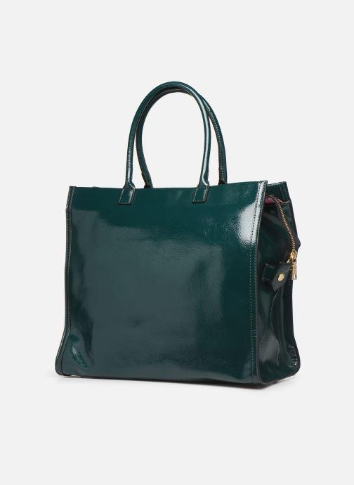Handtaschen Essentiel Antwerp Tierraverde shopper grün ansicht von rechts