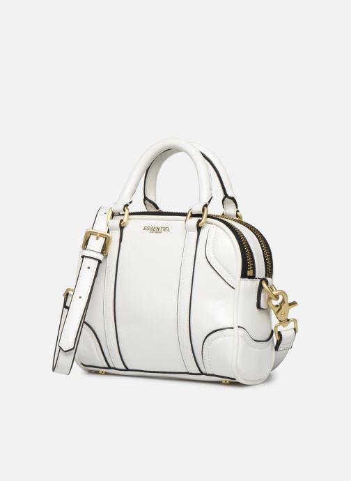 Sacs à main Essentiel Antwerp Tedford handbag Blanc vue portées chaussures