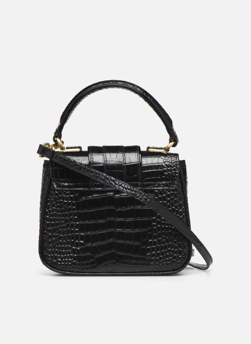 Handtaschen Essentiel Antwerp Trinny Leather small handbag schwarz ansicht von vorne