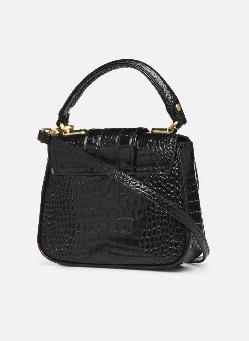 Handtaschen Essentiel Antwerp Trinny Leather small handbag schwarz ansicht von rechts