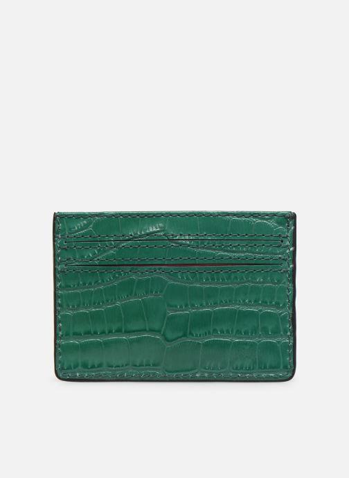 Kleine lederwaren Essentiel Antwerp Tehrani wallet Groen voorkant