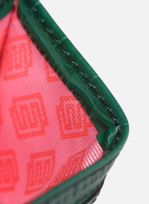 Kleine lederwaren Essentiel Antwerp Tehrani wallet Groen achterkant