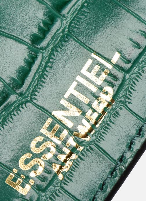 Kleine lederwaren Essentiel Antwerp Tehrani wallet Groen links