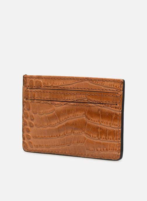 Petite Maroquinerie Essentiel Antwerp Tehrani wallet Marron vue droite