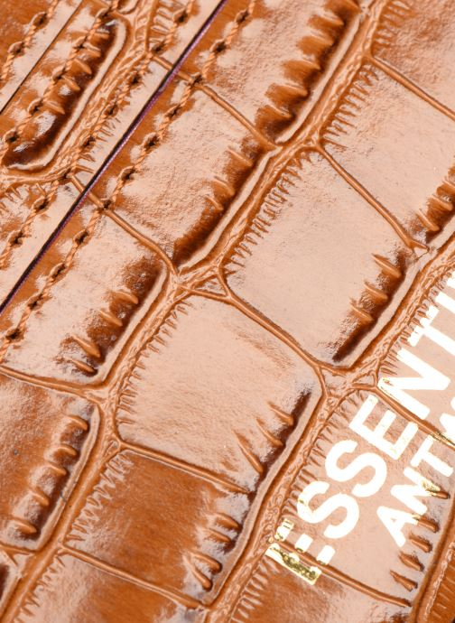 Petite Maroquinerie Essentiel Antwerp Tehrani wallet Marron vue gauche