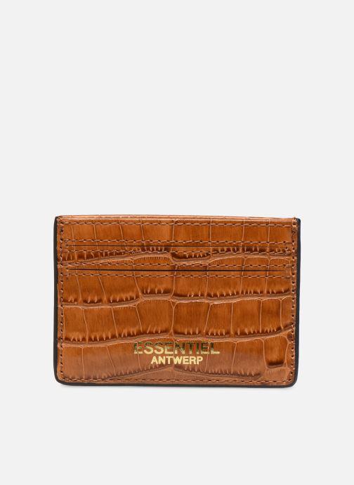 Petite Maroquinerie Essentiel Antwerp Tehrani wallet Marron vue détail/paire
