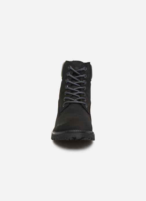 Bottines et boots Lumberjack RIVER M Noir vue portées chaussures