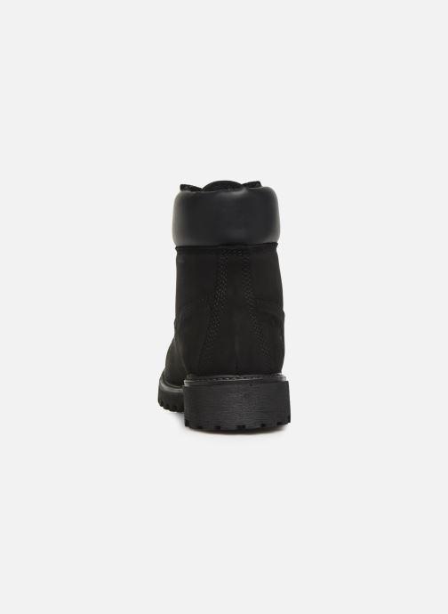 Bottines et boots Lumberjack RIVER M Noir vue droite