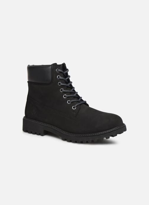 Bottines et boots Lumberjack RIVER M Noir vue détail/paire
