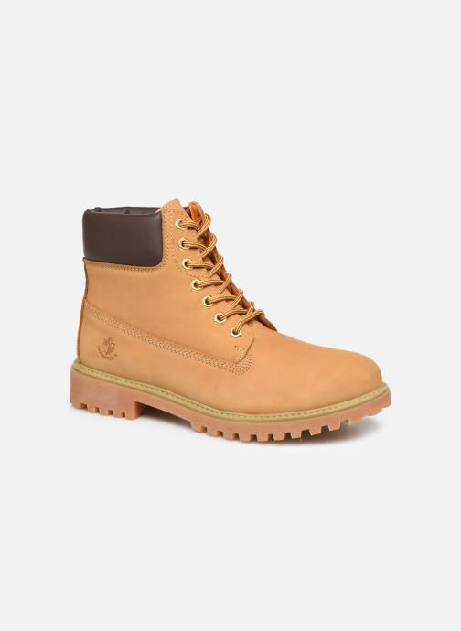 Bottines et boots Lumberjack RIVER M Marron vue détail/paire