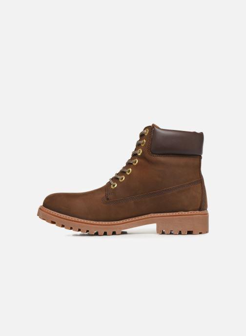 Bottines et boots Lumberjack RIVER M Marron vue face