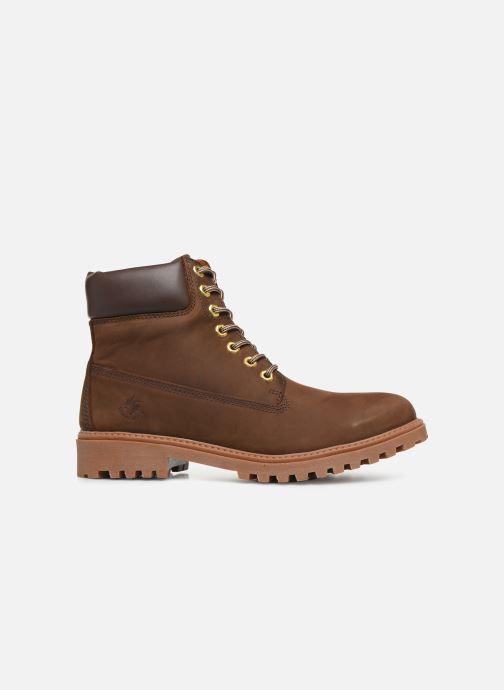 Bottines et boots Lumberjack RIVER M Marron vue derrière