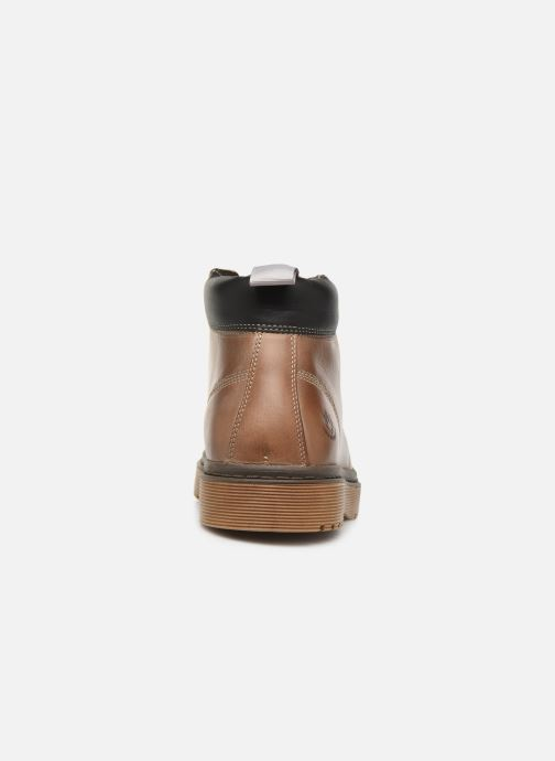 Bottines et boots Lumberjack ARMY Beige vue droite