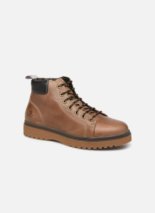 Bottines et boots Lumberjack ARMY Beige vue détail/paire