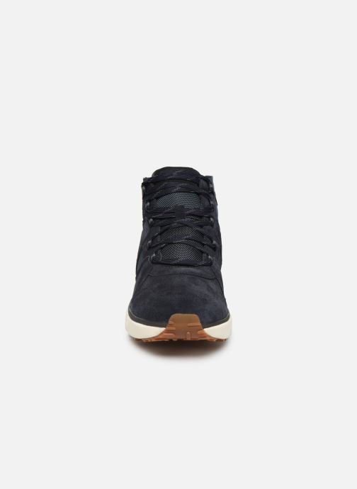 Baskets Lumberjack DYNAMIC HIKING Bleu vue portées chaussures