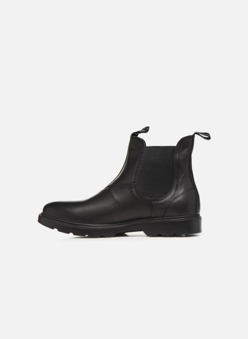 Bottines et boots Lumberjack HERNEST BEATLES Noir vue face
