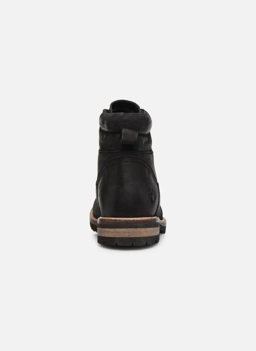 Bottines et boots Lumberjack KYTON Noir vue droite