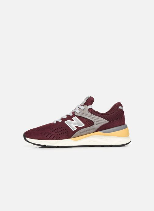 Trainers New Balance MSX90 D Burgundy front view