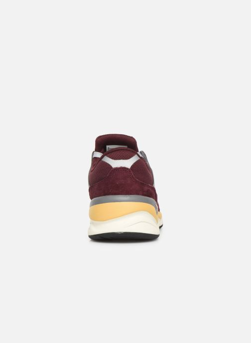 Trainers New Balance MSX90 D Burgundy view from the right