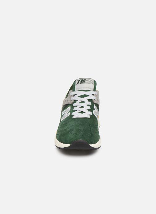 Baskets New Balance MSX90 D Vert vue portées chaussures