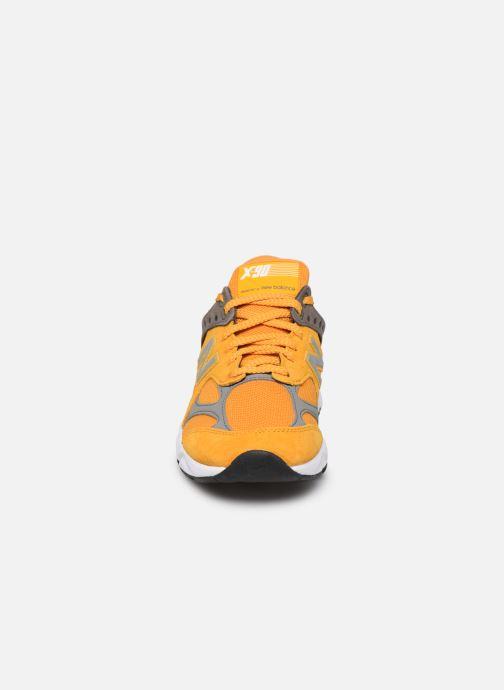 Sneaker New Balance MSX90 D gelb schuhe getragen