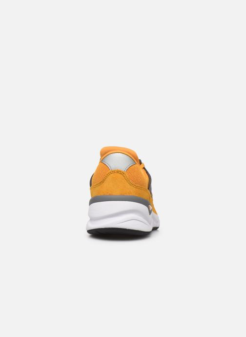 Trainers New Balance MSX90 D Yellow view from the right