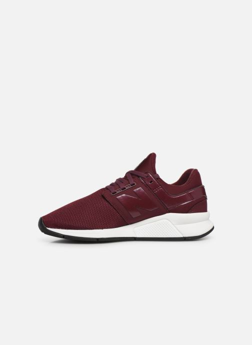 Trainers New Balance WS247 B Burgundy front view