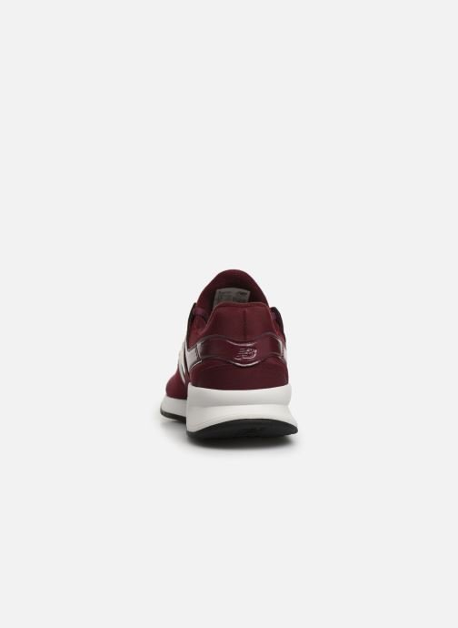 Trainers New Balance WS247 B Burgundy view from the right