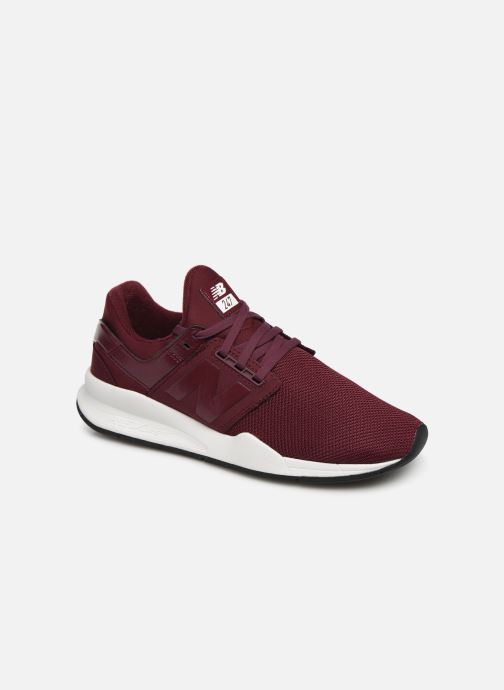 Trainers New Balance WS247 B Burgundy detailed view/ Pair view