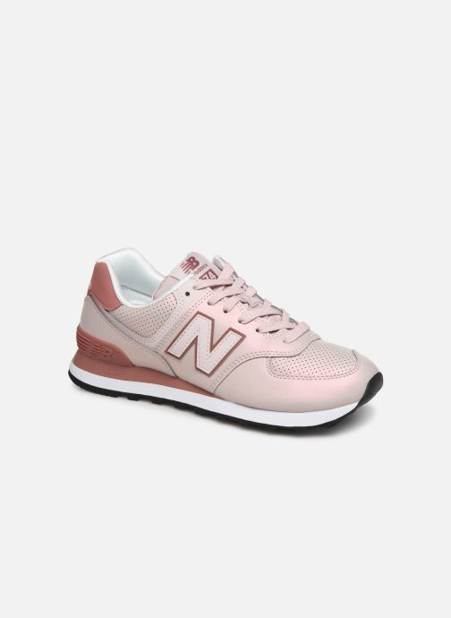 Trainers New Balance WS247 B Pink detailed view/ Pair view