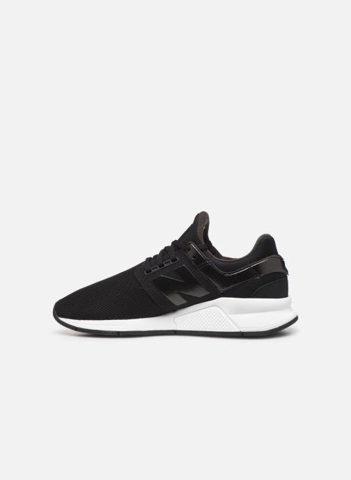 Sneakers New Balance WS247 B Zwart voorkant